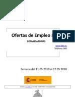 Empleo Público_del 11 al 17_Mayo