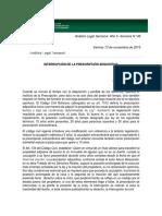 Anlisis Legal Semanal-Interrupcin de La Prescripcin Adquisitiva