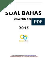 Soal Bahas Usm Pkn Stan 2015