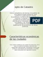 Catastro Urbano - Santa Cruz y Nociones de Economía Urbana1