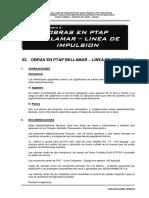 2.1 Especificacciones Tecnicas-Obras de PTAP