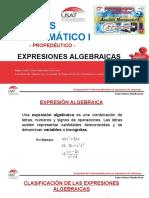 Expresiones Algebraicas.