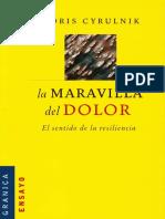 Boris Cyrulnik -  La Maravilla del Dolor.pdf