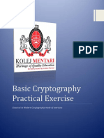 practical exercise - cryptography