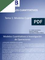 TEMA 1 Modelos Cuantitativos