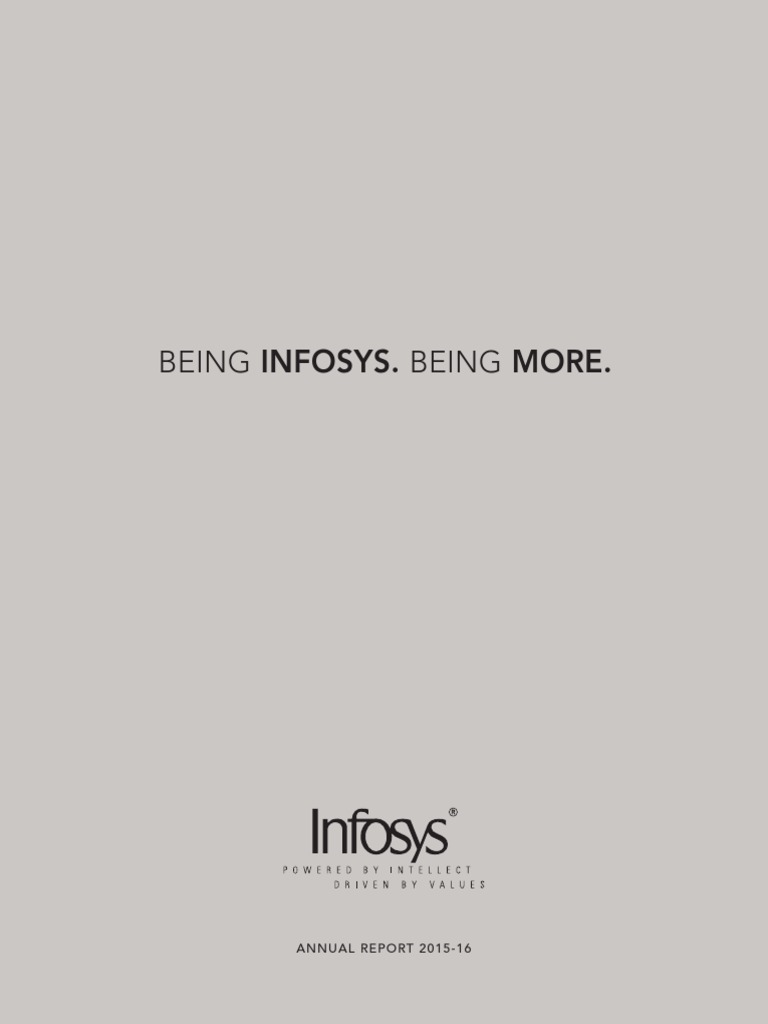 Infosys annual report 2015 16 fixed asset equity finance biocorpaavc