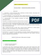 Caderno de Direito Processual Penal