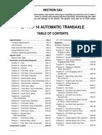 ZF 4 HP 14 Transeje Automático