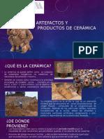 Artefactosyproductos cerámicos