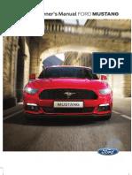 2016 Ford Mustang Manual