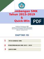 Pengembangan SMK 2015 2019 Dan Quick Wins