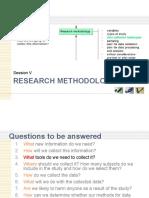 Research Methodology 005