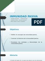 INMUNIDAD PASIVA PRESENTACION