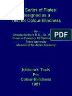 Ishiharas Color Blind Test