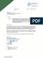 Ketua DPP Inkindo Seluruh Indonesia_Ketua BSAN Inkindo_Penyampaian Surat Edaran Kementrian Pekerjaan Umum Dan Perumahan Rakyat No. 63.SE.M.2015 Tentang Keabsahan