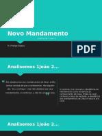Novo Mandamento - Pr. Phelipe Ribeiro