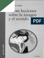 Guy Gauthier -Veinte Lecciones Sobre La Imagen y El Sentido (fragmento).pdf