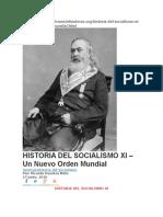 Mockus Rotschild - Historia Del Socialismo Xi - Un Nuevo Orden Mundial