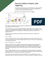 Zero-cross Detectors Deliver Positivee and Negative Triggering