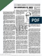 Una Vision Antrologica Del Aborto - Julian Marias