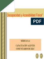 Accesibilidad y Equiparación de Oportunidades