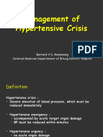 Management of Hypertensive Crisis(diskusi RSUD).ppt