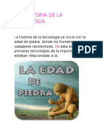 La Historia de La Tecnologia