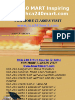 HCA 240 MART Inspiring Minds/hca240mart.com