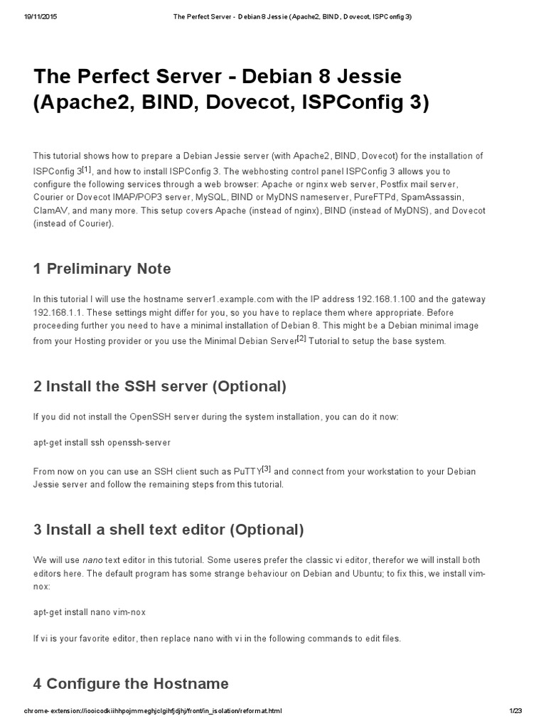 The perfect server debian 8 jessie apache2 bind dovecot the perfect server debian 8 jessie apache2 bind dovecot ispconfig 3 transport layer security php 1betcityfo Choice Image