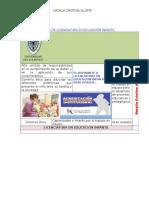 Programa de Licenciatura en Educación Infantil