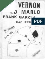 dai vernon, ed marlo, frank garcia y racherbaumer - 6 juegos con ases.pdf