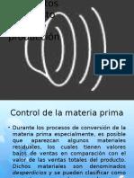Control de La Materia Prima y sus métodos de solucion