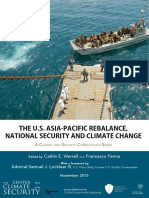 The US AsiaPacific Rebalance - National Security and Climate Change - Nov 2015 - The Center for Climate and Security