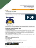 Solar News, October 2007 ~ Australian And New Zealand Solar Energy Society - South Australian Branch