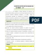 Temario Gestion de Proyectos V5