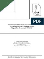 Ficciones Constitucionales en La Nueva Granada
