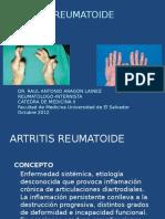 Artritis Reumatoide y Artrosis