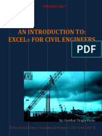 Excel for Civil Engineers_Preview