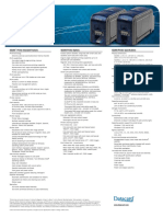 Datacard SD260 Spec Sheet