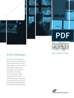 Pulse Event Manager - Brochure