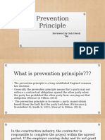 Prevention Principle