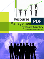 Human Resource Management by Bilal Chaudhry