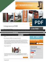 Fabrication de portiques de lavage et tunnel de lavage autocar, bus