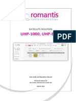 Romantis Manual UHP.ugo.EN3.0