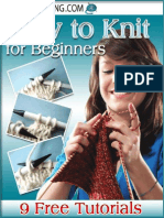 How to Knit for Beginners 9 Free Tutorials.pdf