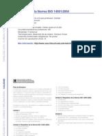 CALIDAD - Introducción a la Norma ISO 14001