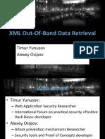 Bh Eu 13 XML Data Osipov Slides