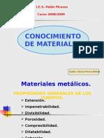 Presentación Conocimiento Materiales