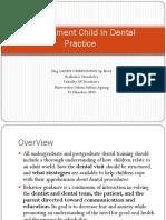 Management Child in Dental Practice
