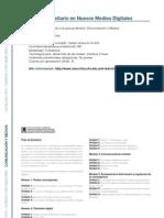 COMUNICACION Y MEDIOS - Experto Universitario en Nuevos Medios Digitales